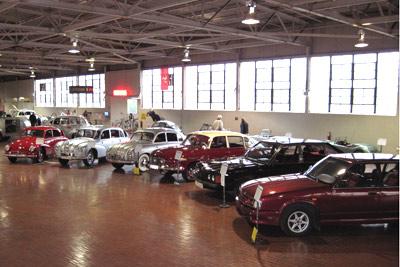 Tatra Exhibit at Lane Motor Museum