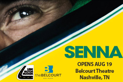 Senna- Opens Aug 19 at the Belcourt Theatre