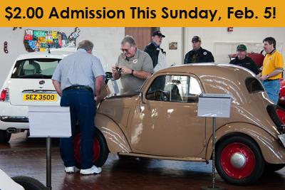 $2 Admission Sunday, Feb, 5 2012