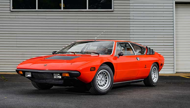 1976 Lamborghini Uracco - Macchine Italiane at Lane Motor Museum