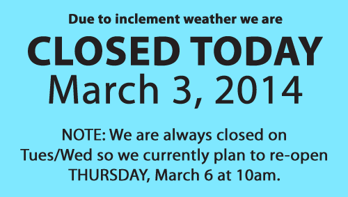 closed-today