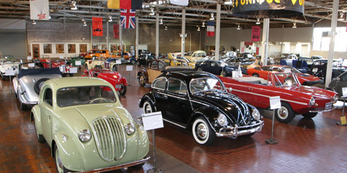 Lane Motor Museum Exhibit Area